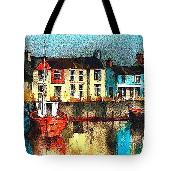 Dublin ... Skerries Harbour Tote Bag