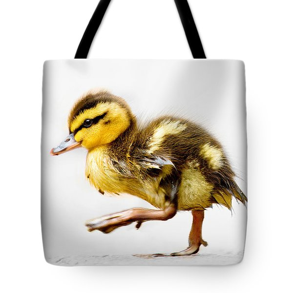 Duckling Parade Tote Bag