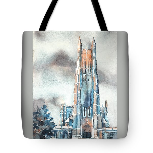 Duke University Chapel Tote Bag