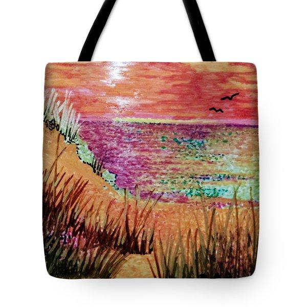 Dune Dreaming Tote Bag