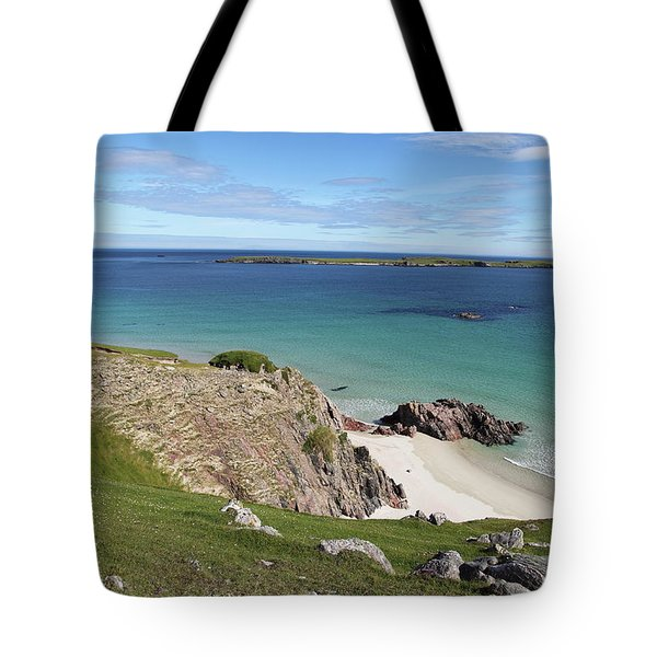 Tote Bag featuring the photograph Durness - Scotland by Pat Speirs