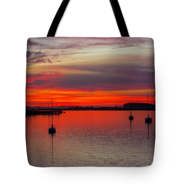 Tote Bag featuring the photograph Dusk by RC Pics