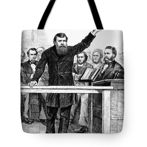 Dwight Lyman Moody Tote Bag by Granger