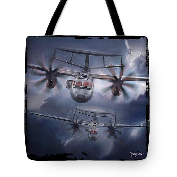 E-2d Hawkeye Tote Bag
