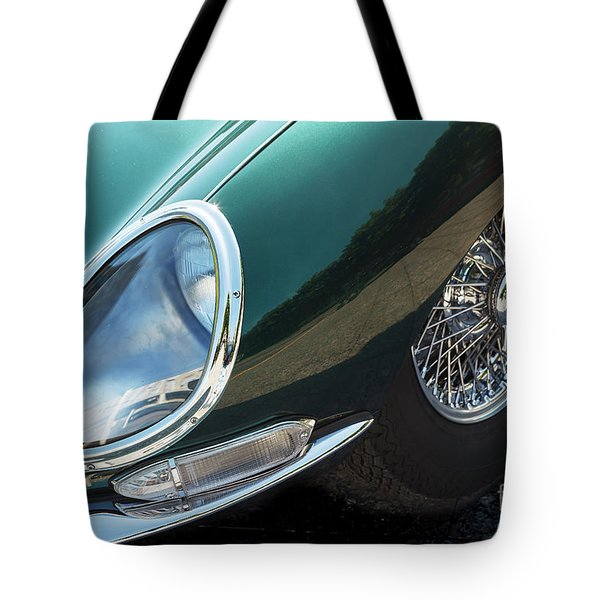 Tote Bag featuring the photograph E-type by Dennis Hedberg