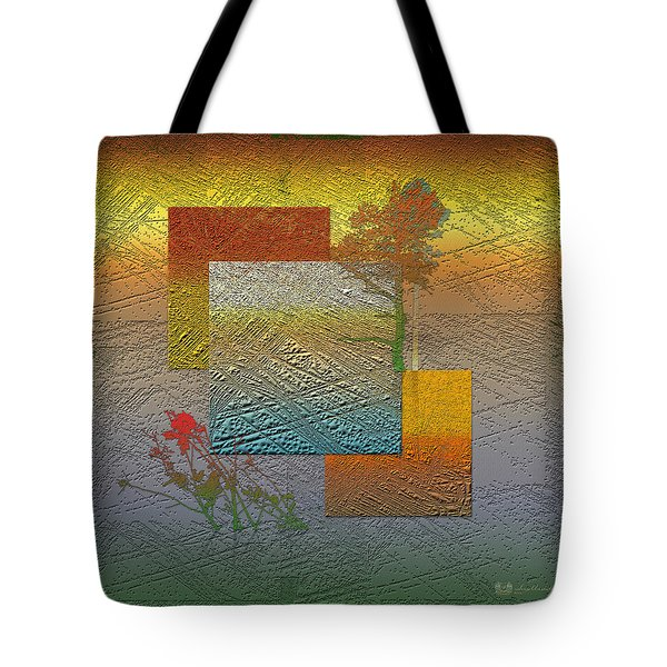 Early Morning In Boreal Forest Tote Bag by Serge Averbukh