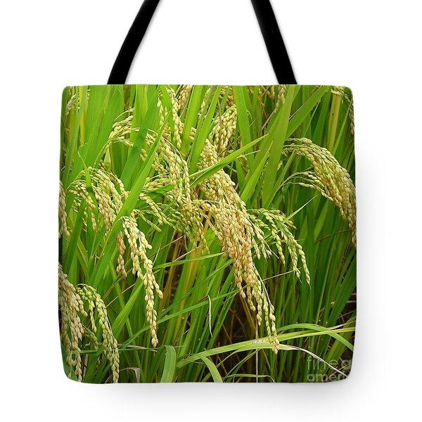 Ears Of Rice Tote Bag