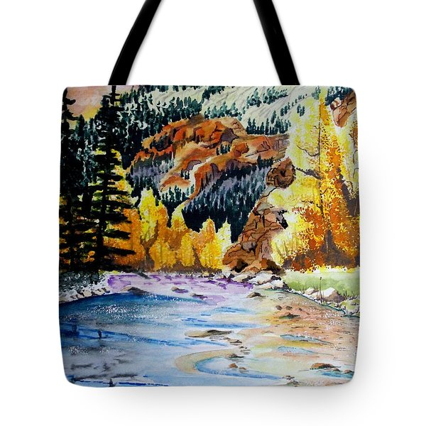 East Clear Creek Tote Bag by Jimmy Smith