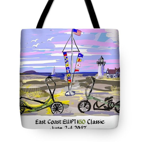 East Coast Elliptigo Classic Tote Bag