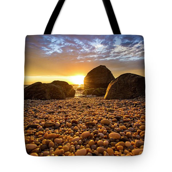 East Marion Sunset Tote Bag