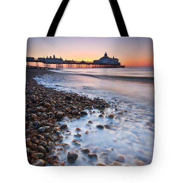 Eastbourne Sunrise Tote Bag