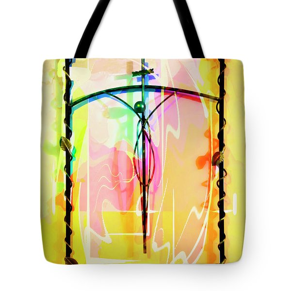 Tote Bag featuring the photograph Easter Remembrance by Al Bourassa