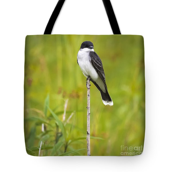 Tote Bag featuring the photograph Eastern Kingbird  by Ricky L Jones
