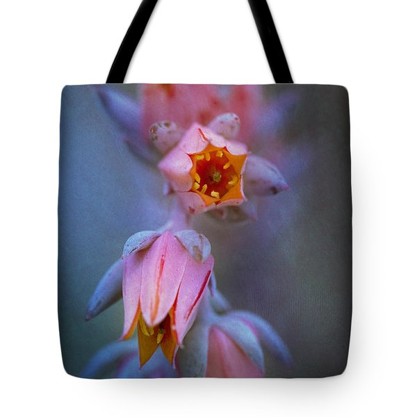 Echeveria Flowers Tote Bag