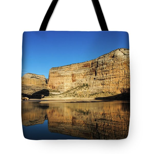 Tote Bag featuring the photograph Echo Park In Dinosaur National Monument by Nadja Rider