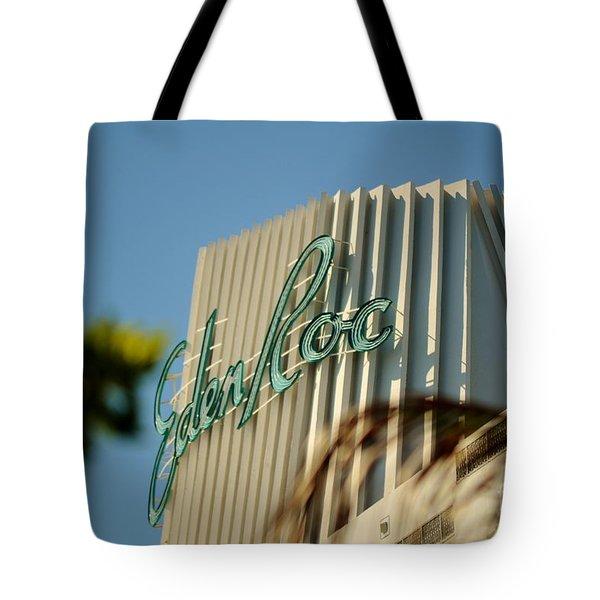 Eden Roc Hotel Miami Beach Tote Bag