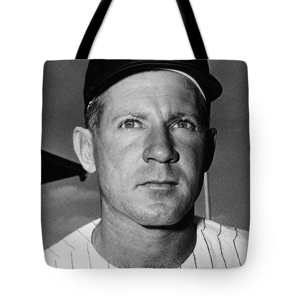 Edward Whitey Ford Tote Bag by Granger