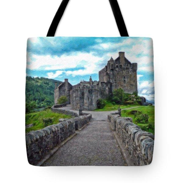 Eilean Donan Castle - -sct665549 Tote Bag