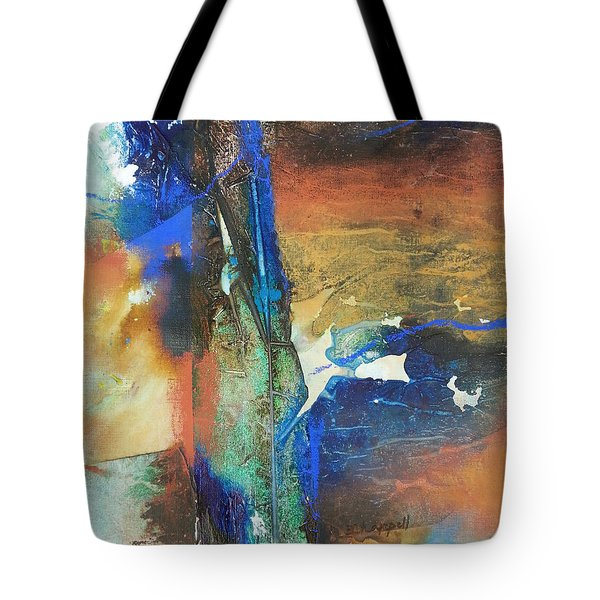Electric And Warm Tote Bag