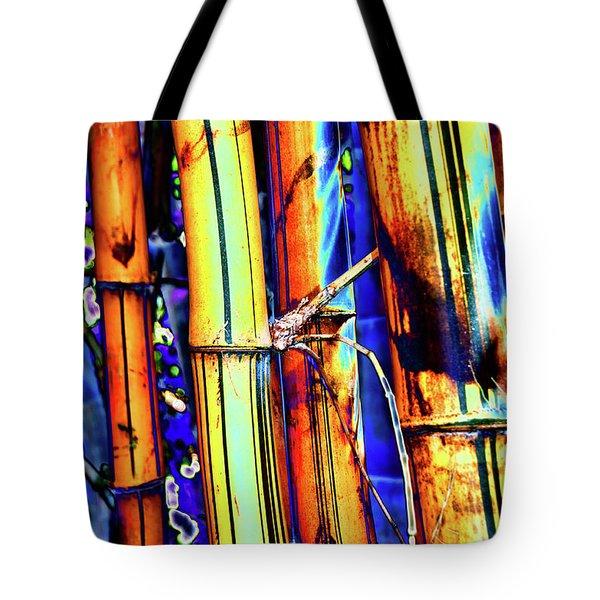 Electric Bamboo 1 Tote Bag