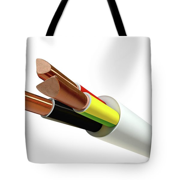 Electrical Cable Tote Bag