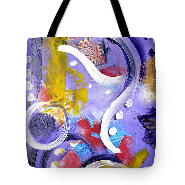 Elephant Dance Tote Bag
