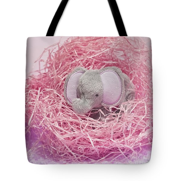 Elephant For Charity Pink Tote Bag
