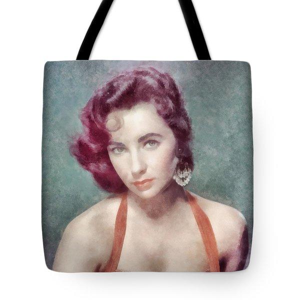 Elizabeth Taylor By John Springfield Tote Bag