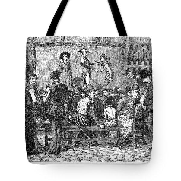 Elizabethan Theatre Tote Bag by Granger