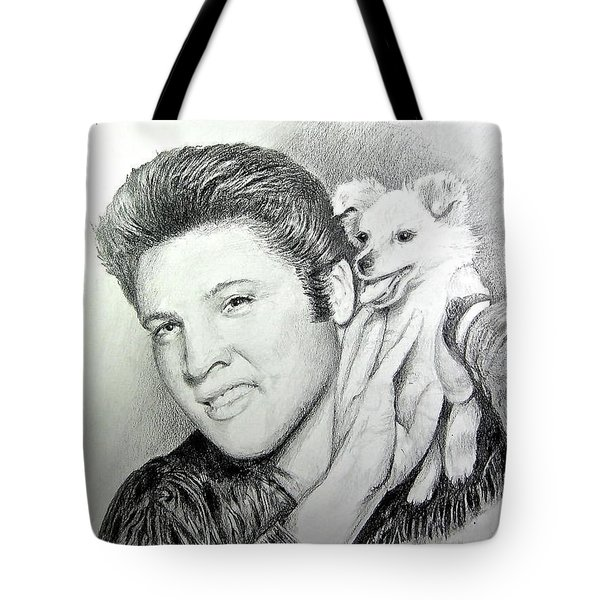 Elvis And Sweet-pea Tote Bag