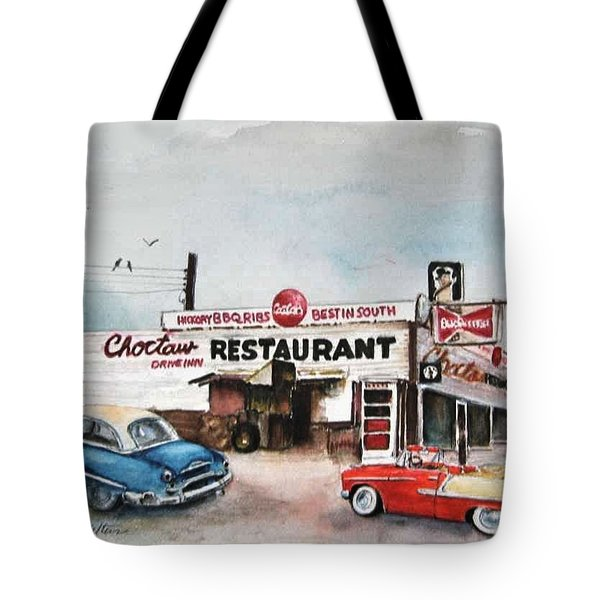 Elvis Has Left The Building. Tote Bag