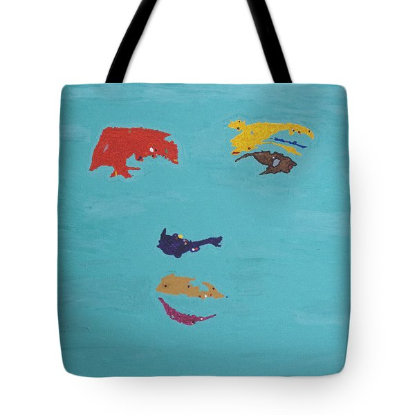 Elvis In The Sky Tote Bag by Stormm Bradshaw