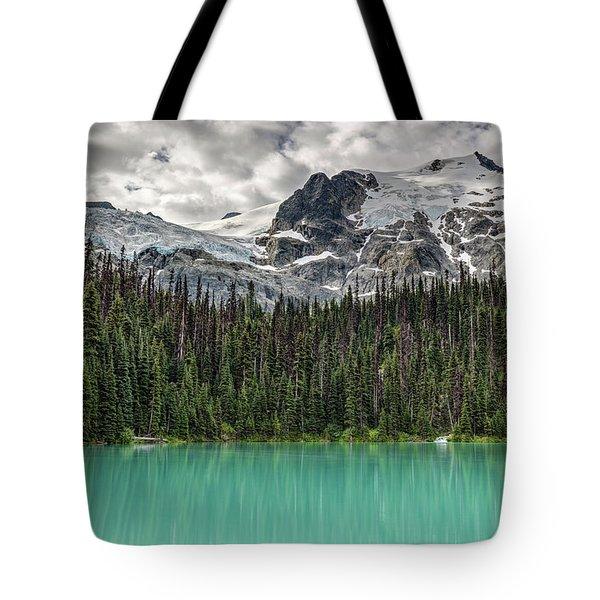 Emerald Reflection Tote Bag