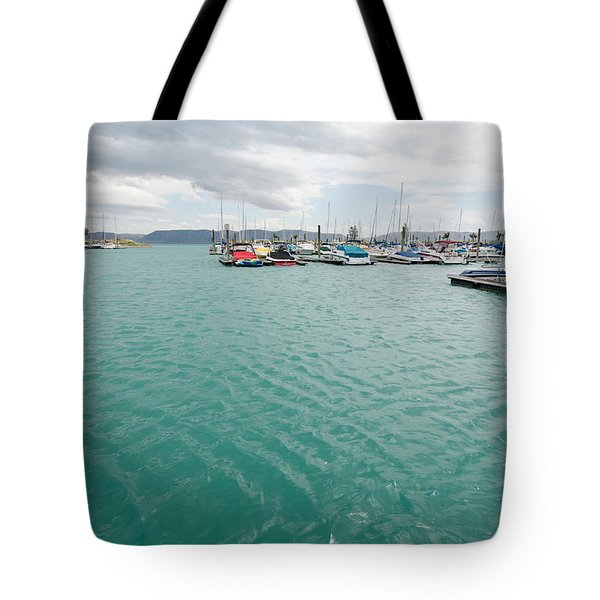 Emerald Waters Tote Bag