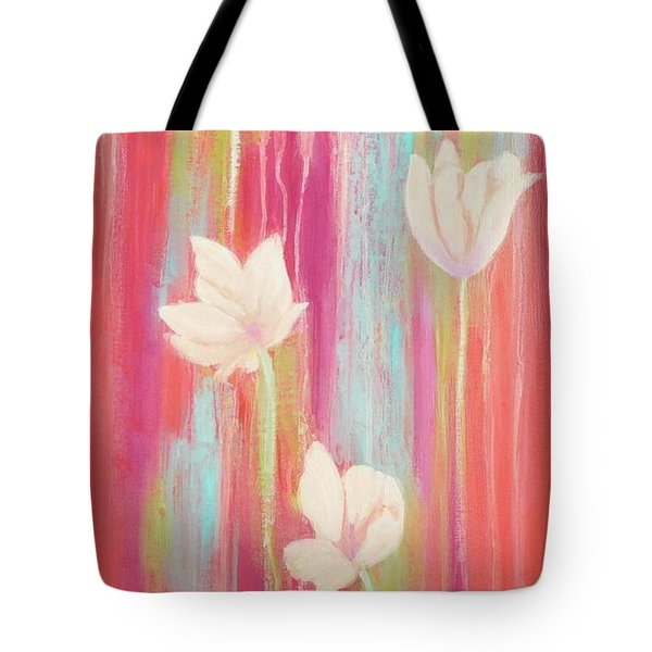 Tote Bag featuring the painting Simplicity 2 by Irene Hurdle
