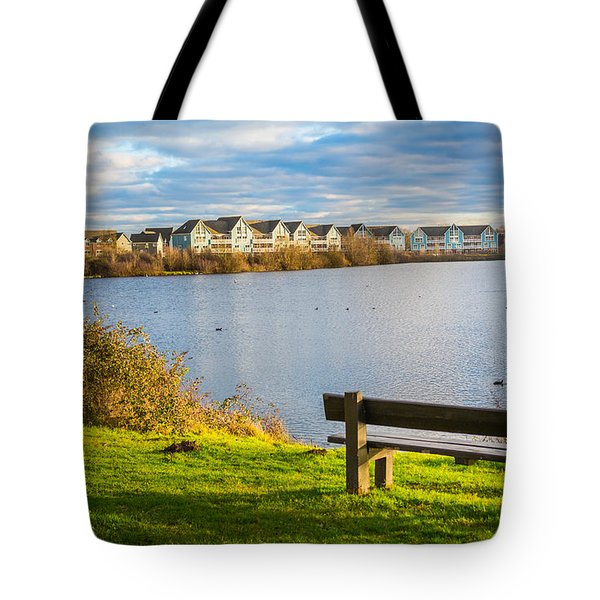 Empty Bench Tote Bag