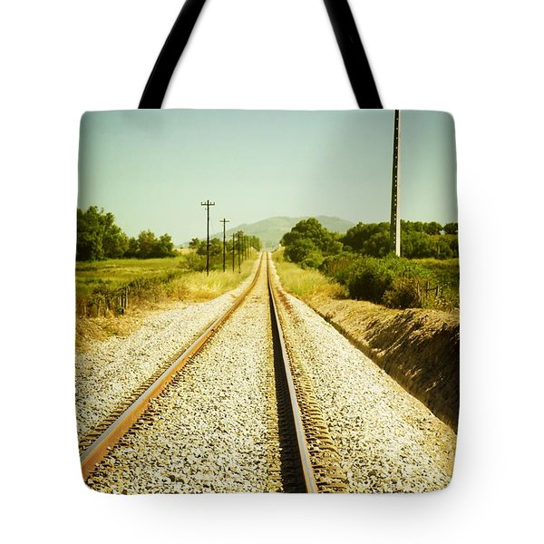 Empty Railway Tote Bag