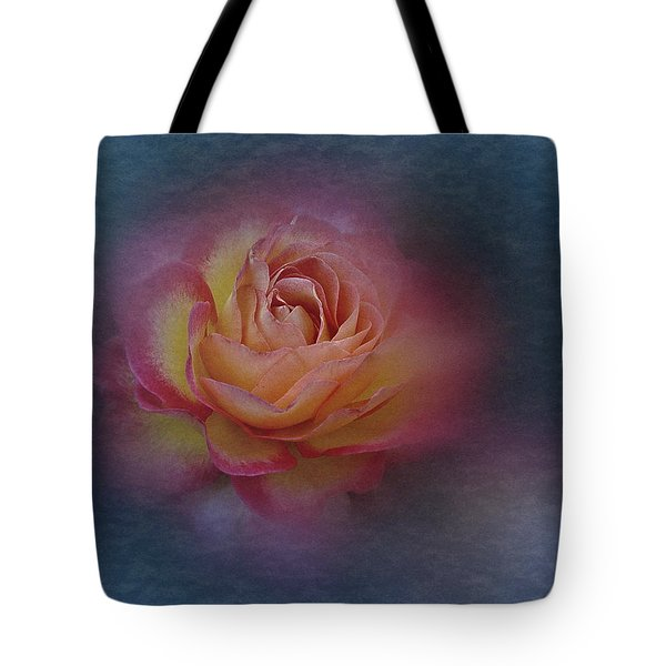 Tote Bag featuring the photograph End Of September 2016 Rose by Richard Cummings