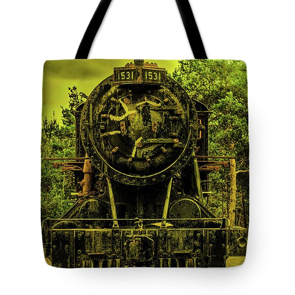 Train Engine 1531 Tote Bag