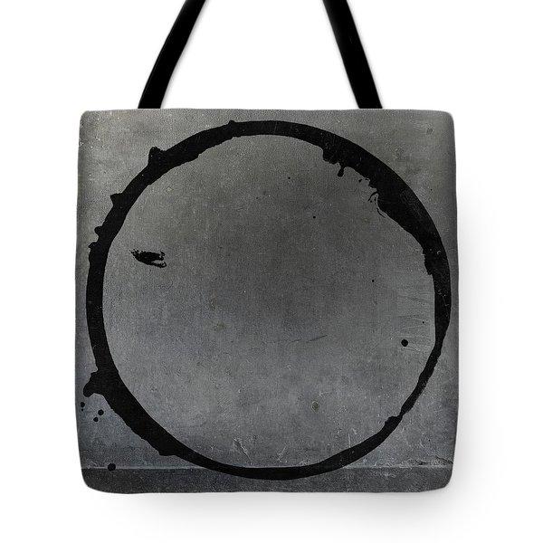 Tote Bag featuring the digital art Enso 2017-27 by Julie Niemela
