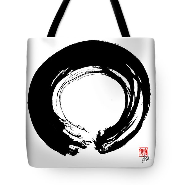 Enso / Zen Circle 11 Tote Bag