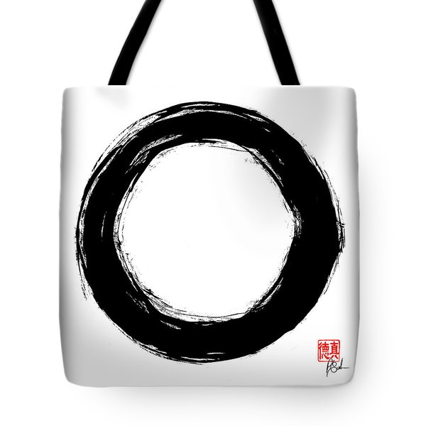 Enso / Zen Circle 12 Tote Bag