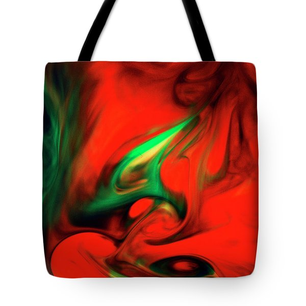 Envy Feeding On Itself Tote Bag