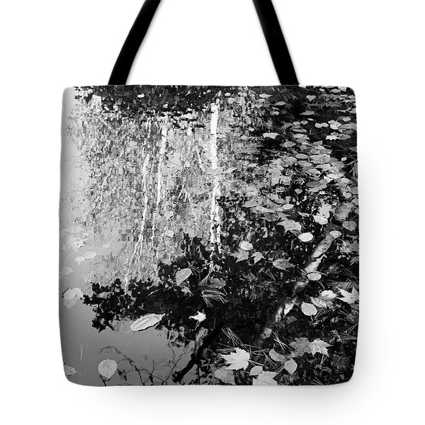 Etched In Autumn Tote Bag