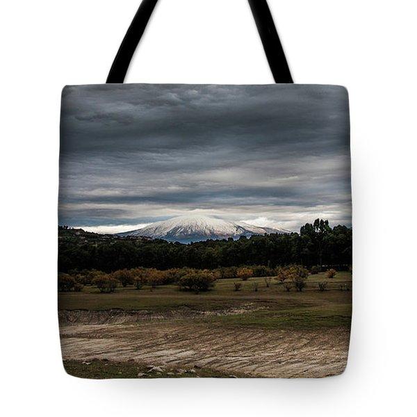 Etna, The West Side Tote Bag