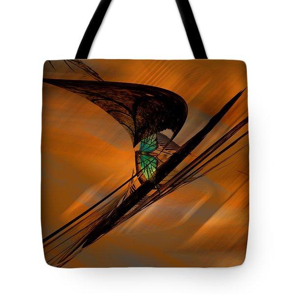 Tote Bag featuring the painting Euphoria by Gerlinde Keating - Galleria GK Keating Associates Inc