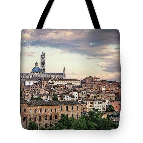 Evening Adagio Tote Bag