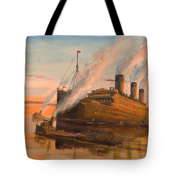Evening Departure Tote Bag by Christopher Jenkins