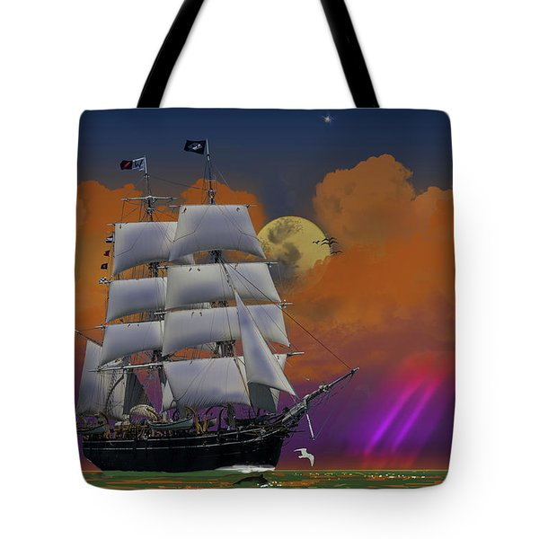 Evening Return For The Elissa Tote Bag