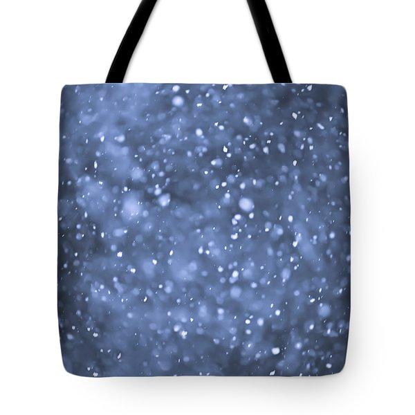 Evening Snow Tote Bag by Elena Elisseeva